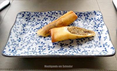 Lafayette: Rolinhos crocantes de Carne-do-Sol