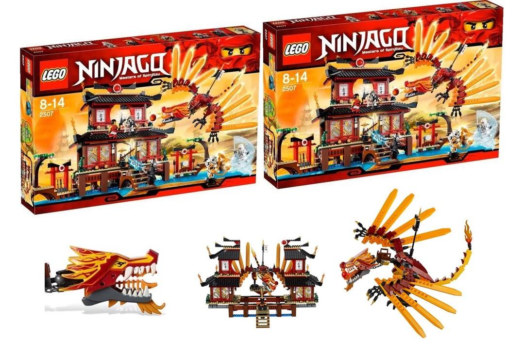 Lego Ninjago Fire Temple 2507 Lego Ninjago Fire Temple 2507