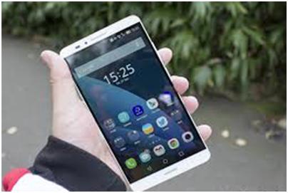 Handphone Dengan Sidik Jari Milik Huawei, Kerennnn.....