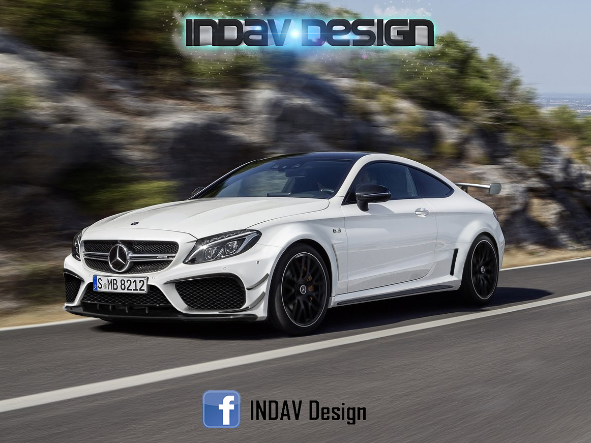 reader envisions next mercedes amg c63 coupe black series. Black Bedroom Furniture Sets. Home Design Ideas