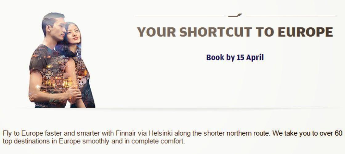 芬蘭航空 Finnair 【暑假玩轉歐洲】,香港出發歐洲各大城市$4,930起,回程仲由不同城市返港。