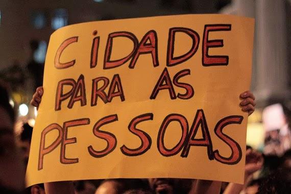 vem pra rua - frases de Niemeyer - revolta do vinagre