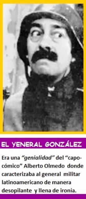 EL YENERAL GONZÁLEZ.