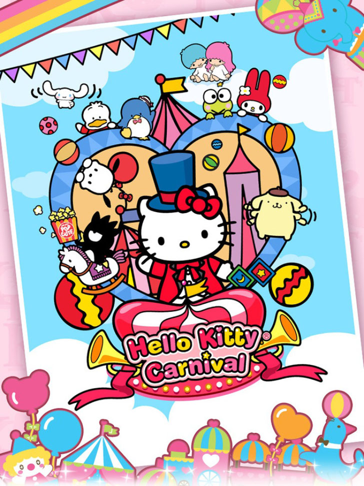 Hello Kitty Carnival App iTunes App By Sanrio Digital Europe - FreeApps.ws