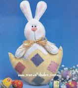 Conejos de Pascuas. Ya falta poquito para Pascuas!! buscando ideas para . manualidades