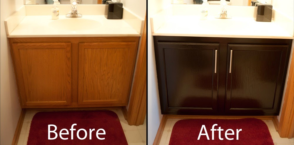 The diy helpers how to stain kitchen cabinets for How much does it cost to stain cabinets
