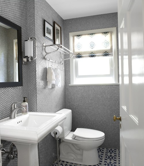 Gallery For Grey And White Bathroom Accessories