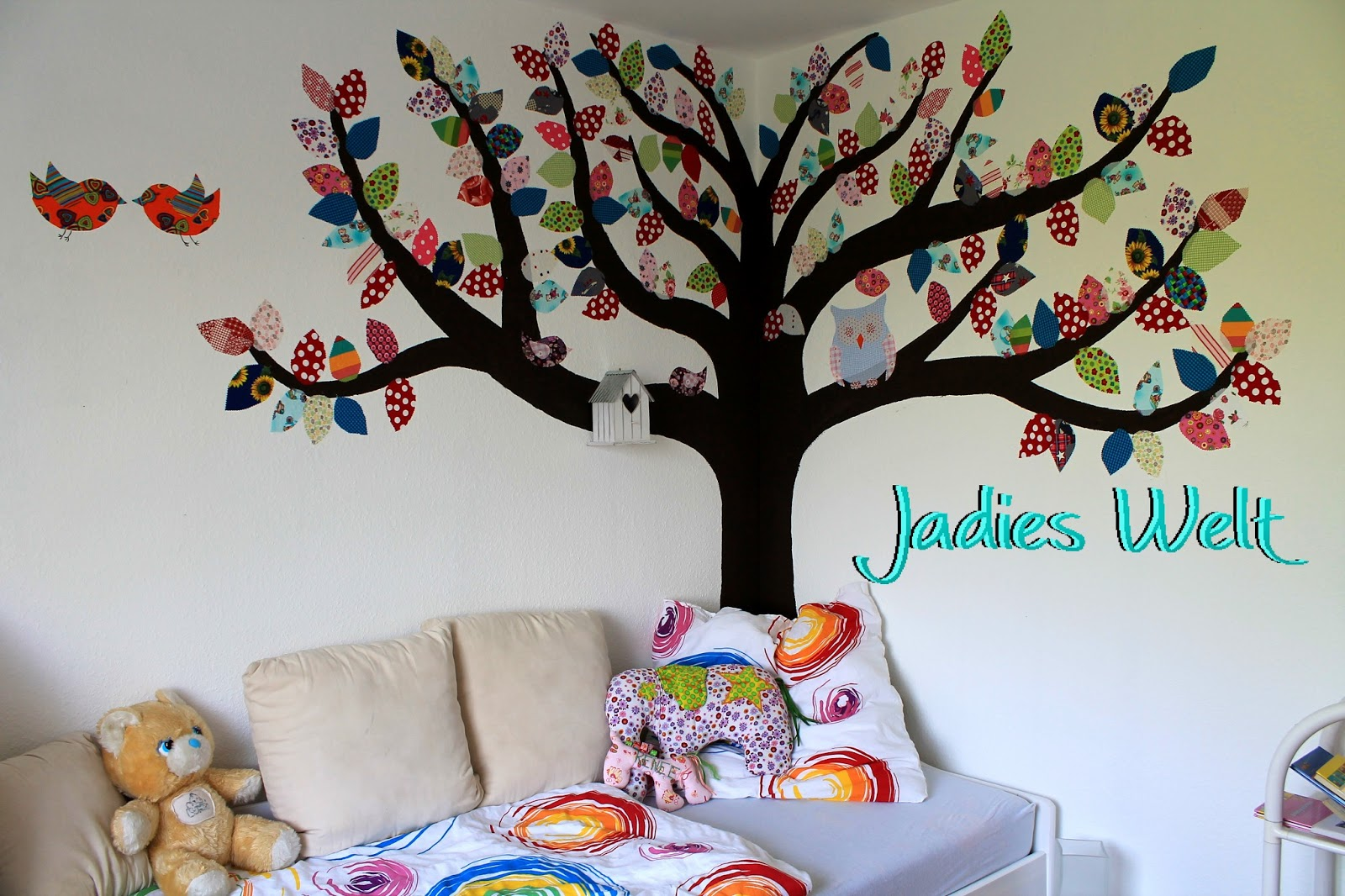 Jadies welt anleitung stoffbaum wandbilder aus stoff - Wandbilder aus stoff ...