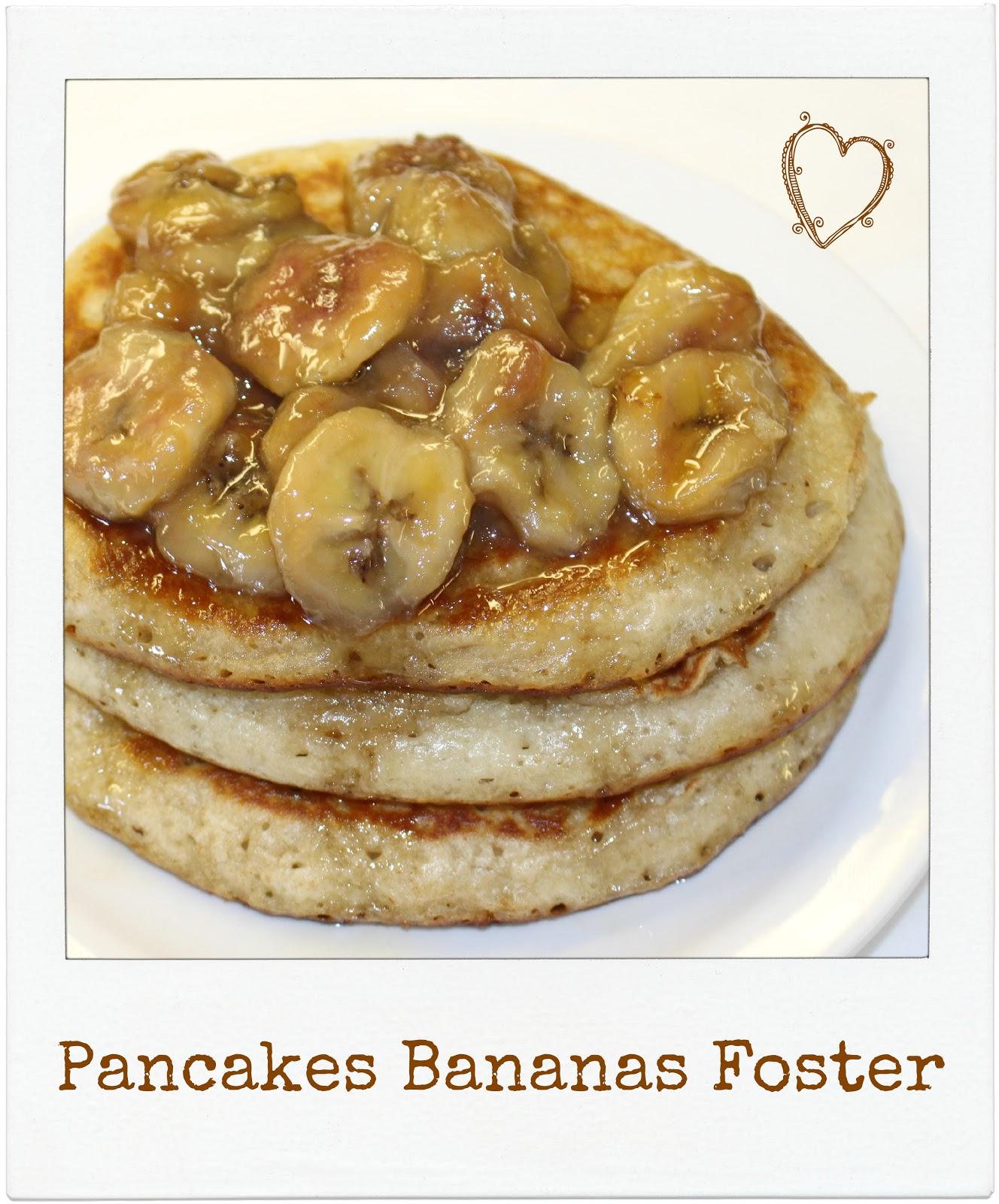 Buttermilk Bananas Foster Pancakes