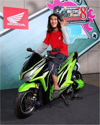 Modif Honda Vario Techno 125-2