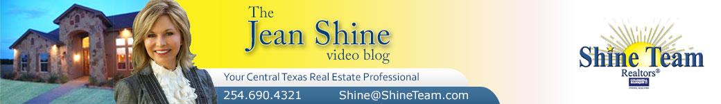 Central Texas Real Estate Video Blog with Jean Shine