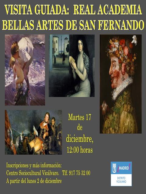Visita guiada Real Academia BBAA San Fernando