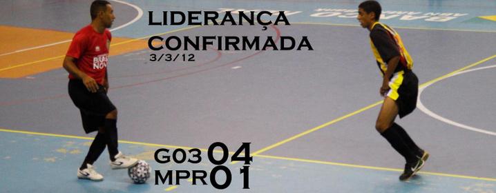 Grêmio 03 Futsal 04 x 01 Meninos de Prata