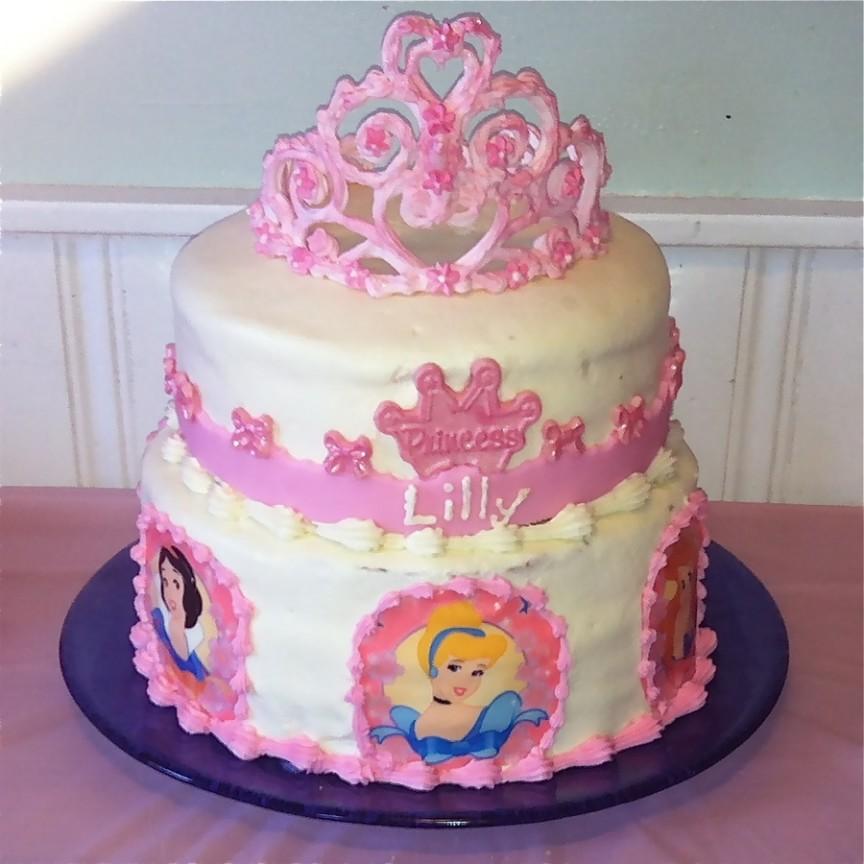 Фотография торта принцесса