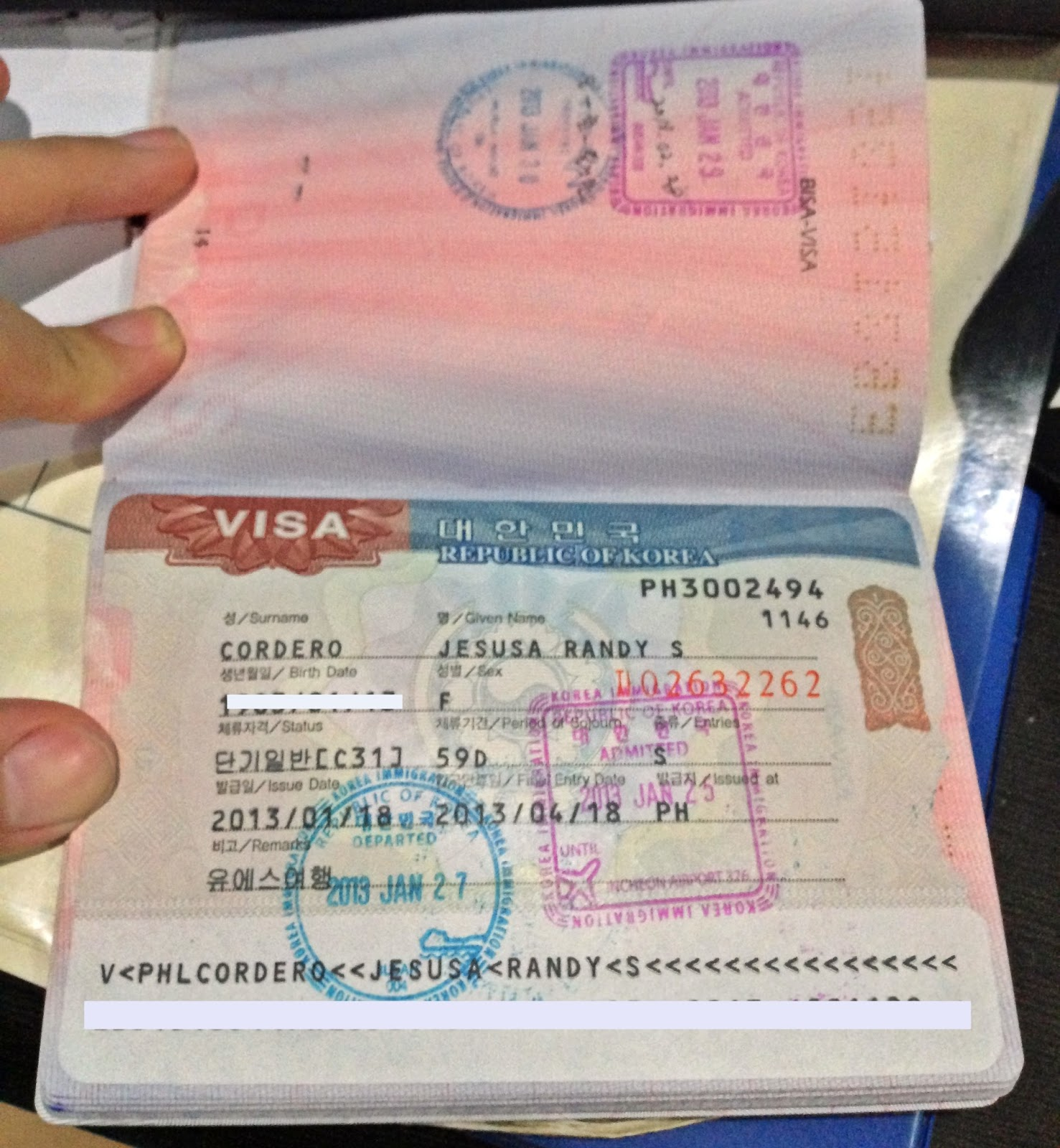 Ms jhessy wandering free south korean visa requirements for south korean visa requirements for filipinos yelopaper Image collections