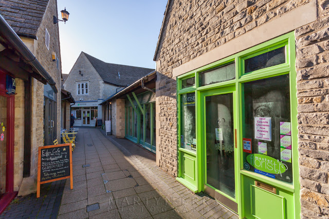 Shopping street in the Oxfordshire town of Witney in the Cotswolds by Martyn Ferry Photography