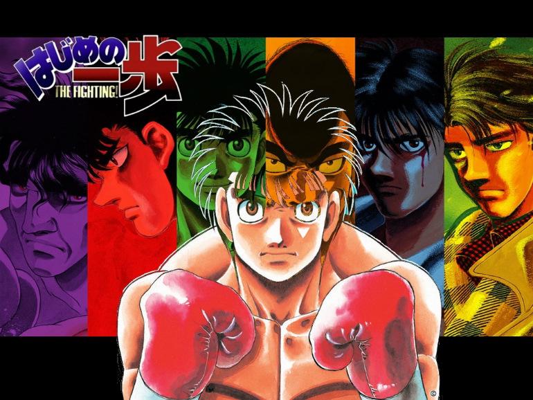 Para aquellos amantes del boxeo y anime.