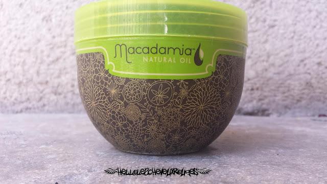Pot Macadamia Deep Repair Masque vue de face www.hellolescheveuxrouges.com