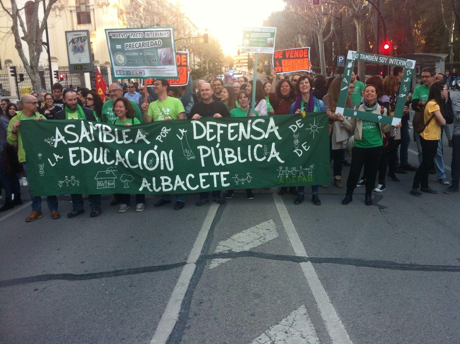 Marea verde de Albacete