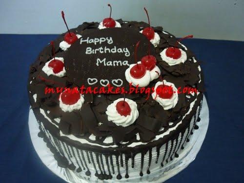 Mynata Cakes black forest birthday cakes for mama