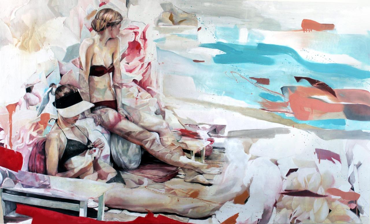 A bela arte abstrata de Benjamin Garcia
