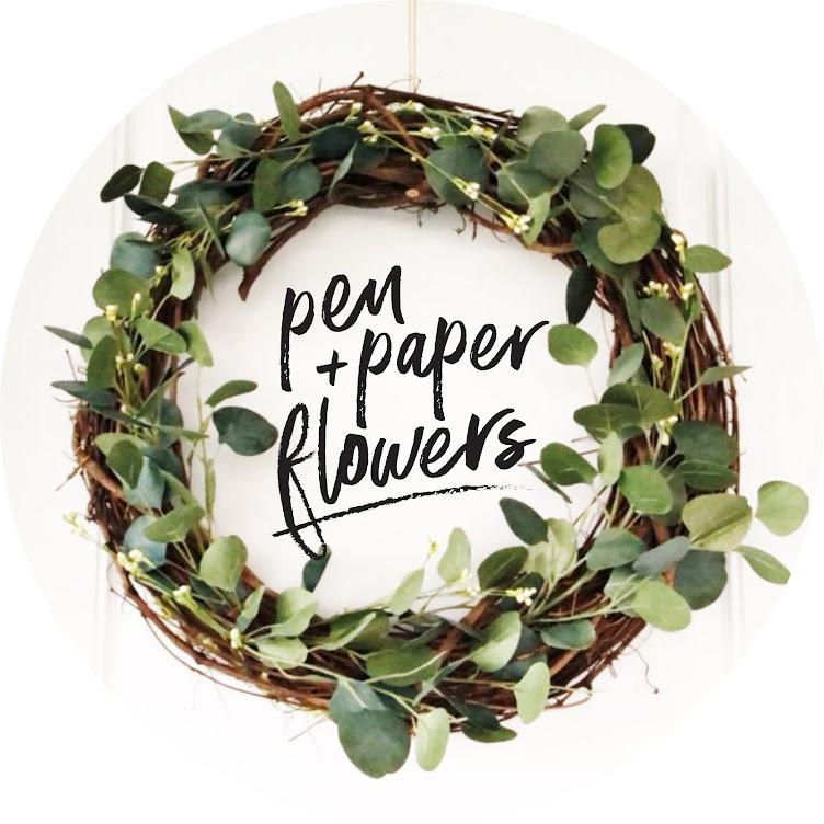 Pen + Paper Flowers