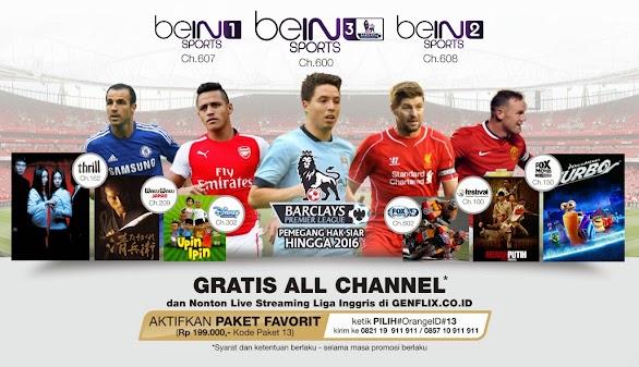 Promo Voucher Orange TV Gratis All Channel