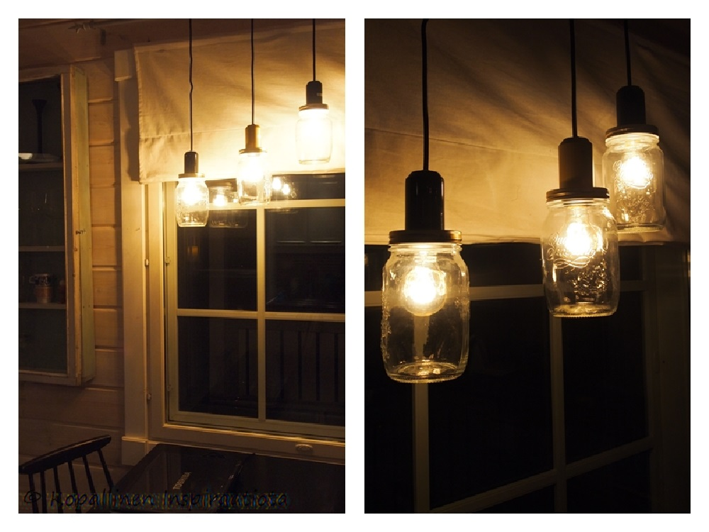 Lamput lasipurkeista