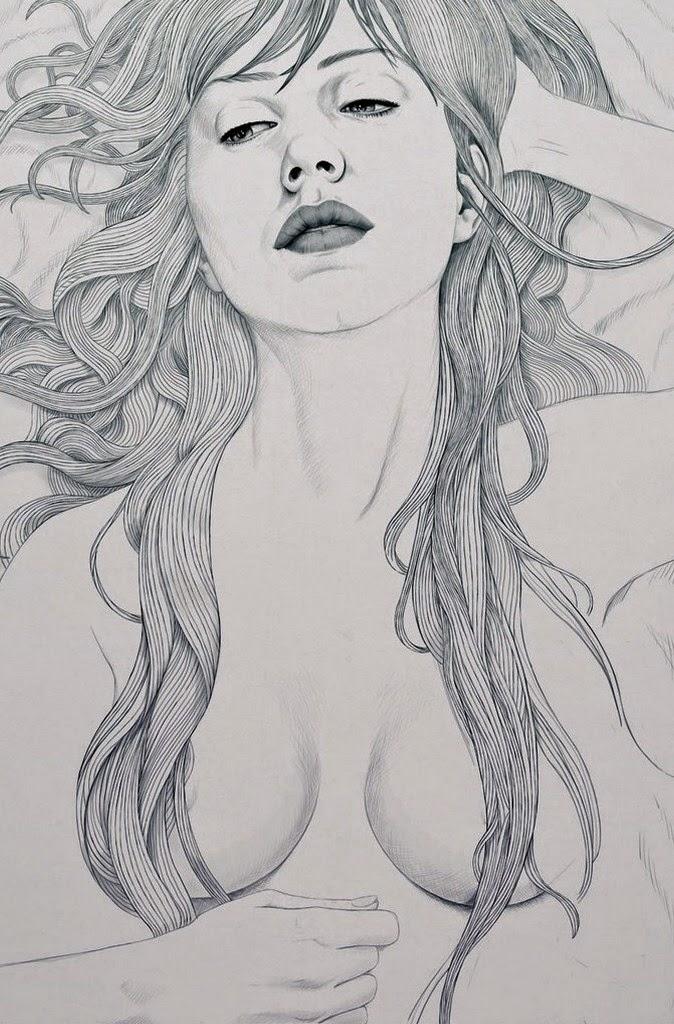 dibujos-reales-de-caras-de-mujeres