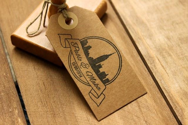 invitaciones de boda originales sello personalizado hermanas bolena