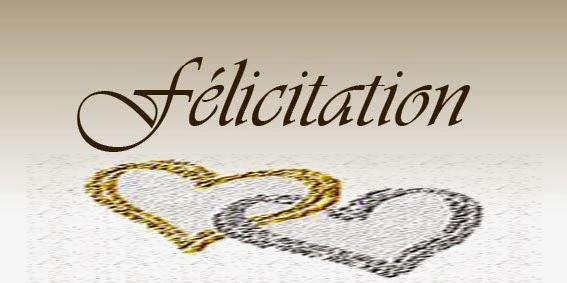 Idée texte felicitation mariage