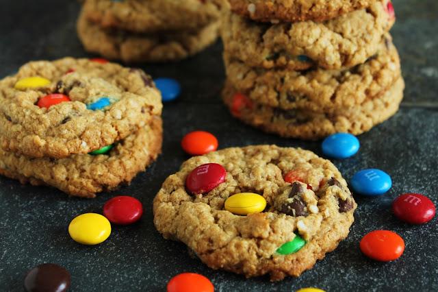 Quinoa Monster Cookies