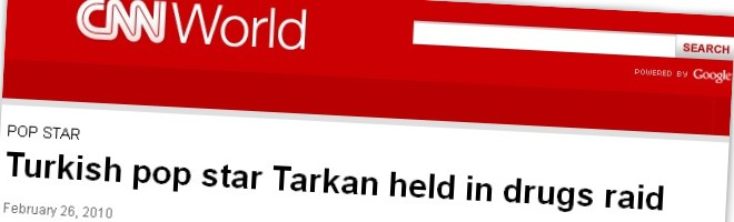 Turkish pop star Tarkan held in drugs raid
