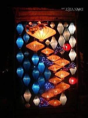 den long hoi an21 Đèn lồng Hội An trong không gian biệt thự, nhà hàng, quán cà phê