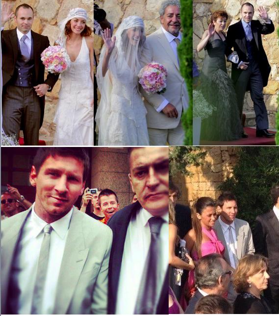 Andre iniesta wedding