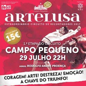CAMPO PEQUENO (LISBOA) 29-07-2017.ARTELUSA RECORTADORES..