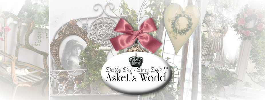 SHABBY CHIC STARY SZYK ™, VINTAGE, BROCANTE, SCANDINAVIAN STYLE - ASKET'S WORLD