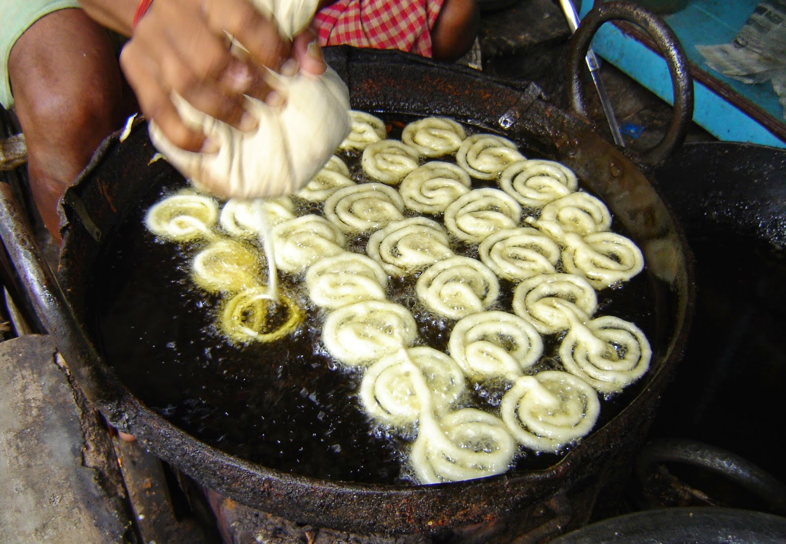 Jalebi Making, Halwai