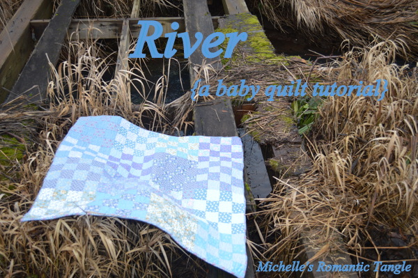 River Blue Baby Quilt Tutorial