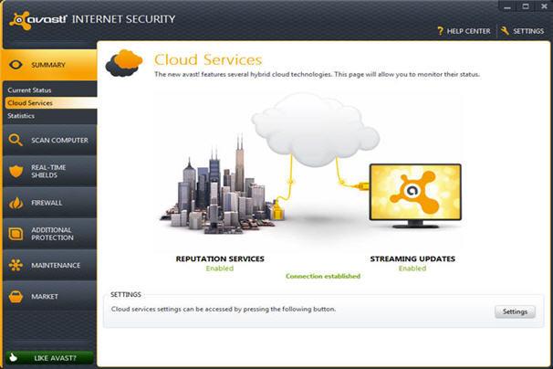 Avast Internet Security 8.0.1483