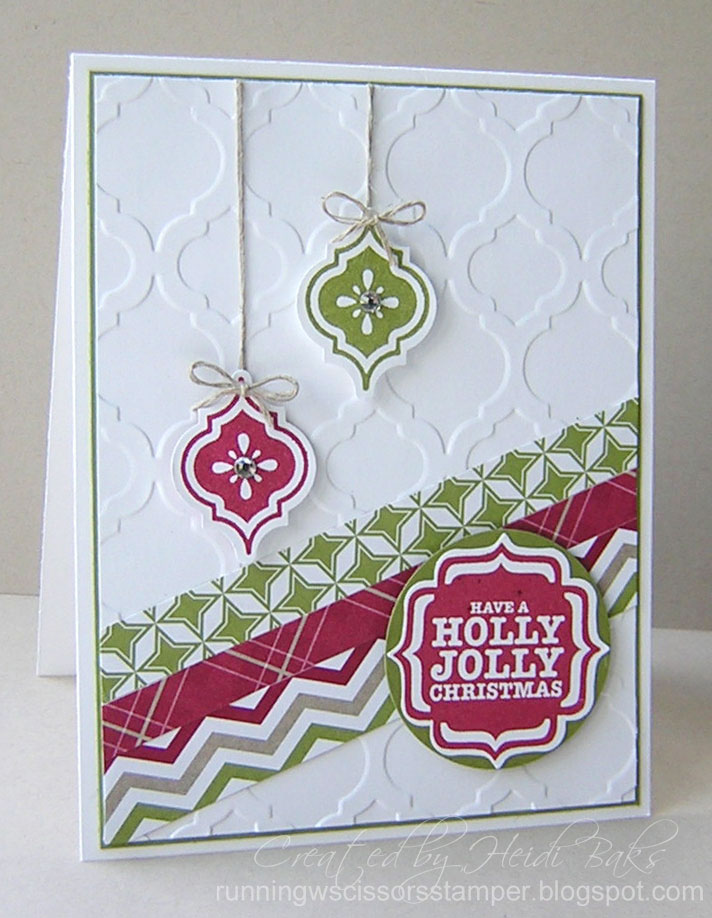 Su label bracket punch and tags 4 you on pinterest tags for Modern christmas card ideas