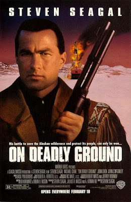 On Deadly Ground 1994 DVD R1 NTSC Latino