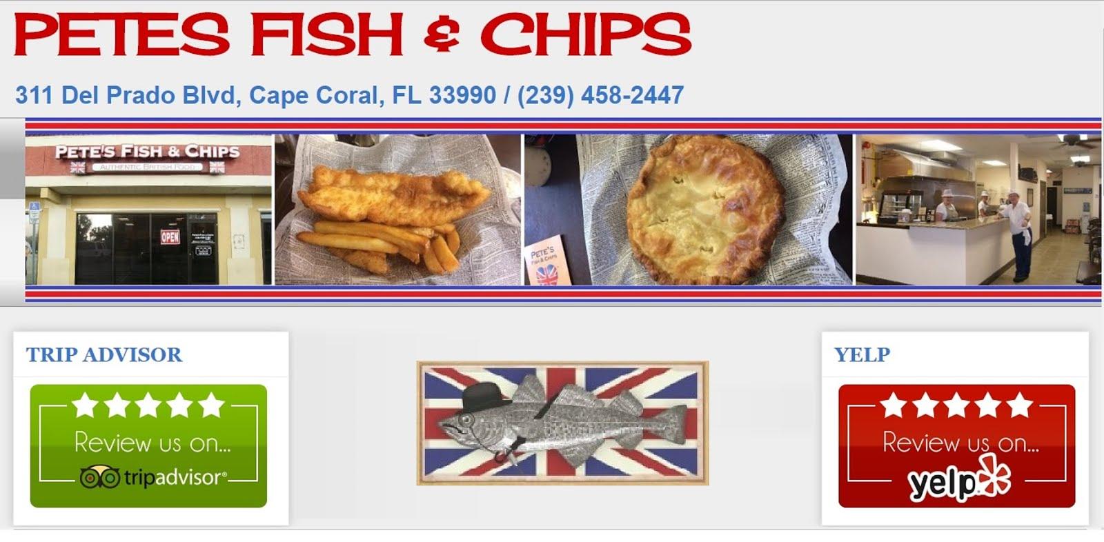 PETES FISH & CHIPS