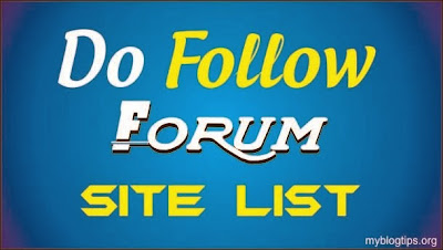 List 1617 Forums High Pr  Dofollow Backlink