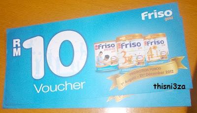 Friso - Promo RM10 Voucher...