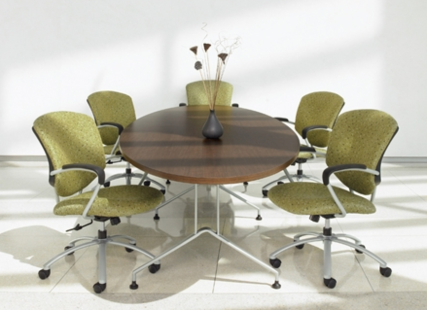 Talk About Chair - Elliptical conference table