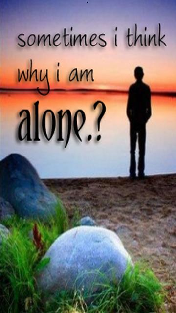 I Am Alone Without You Wallpaper For Boys I Am Alone Wallpaper |...