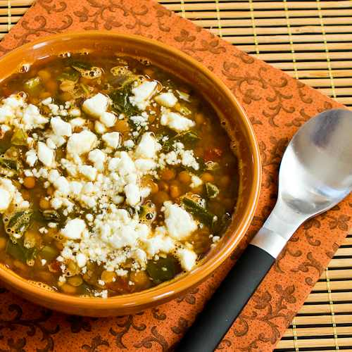 Slow Cooker Greek Lentil Soup