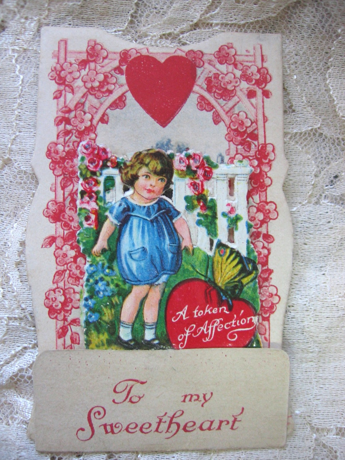 Happy Valentineu0027s Day! Vintage Valentine Cards   My Latest Find!