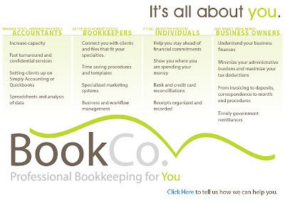 bookco static webpage design